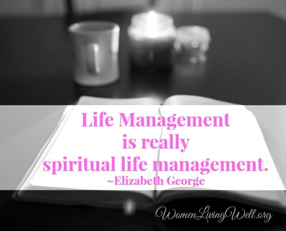 life management elizabeth george