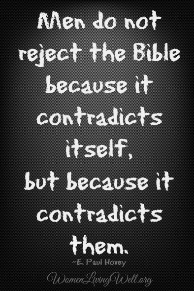 those who reject the Bible