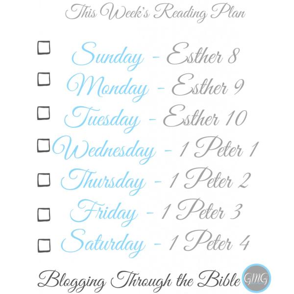 This Week's GMG Reading Plan {09.07.14}