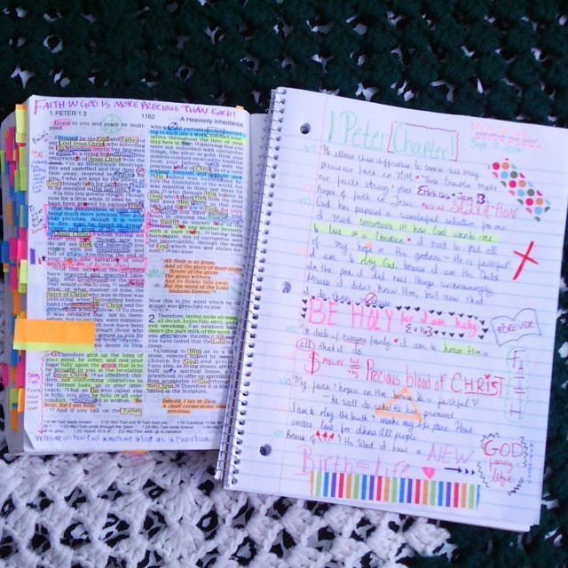 Have you tried Bible art journaling as a part of your daily quiet time? Here are some great ideas from one of our Good Morning Girls of Bible journaling. #GoodMorningGirls #BibleJournaling #Artjournaling