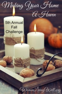 Making Your Home a Haven Fall Challenge Is Back!