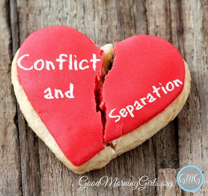 Conflict and Separation