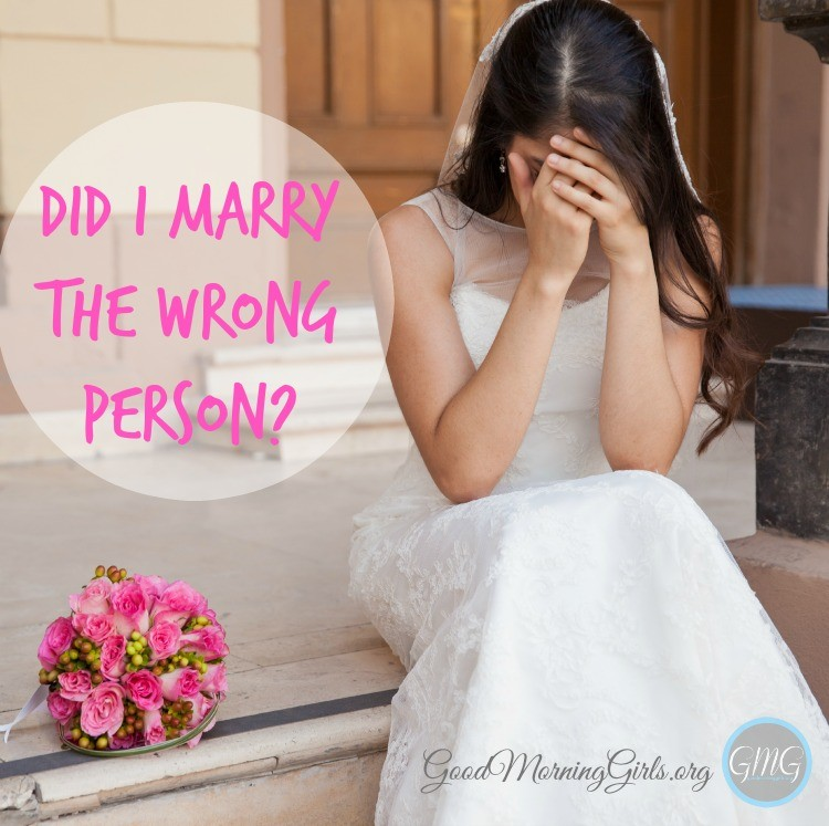 "Marriage starts off as bliss. But over the years as conflicts arise, marriage grows hard and we may wonder ""Did I marry the wrong person?  #Biblestudy #Genesis #WomensBibleStudy #GoodMorningGirls"