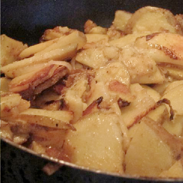 Easy Skillet Potatoes