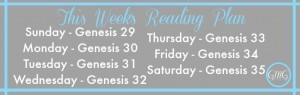 This Week's GMG Reading Plan {10.26.14}