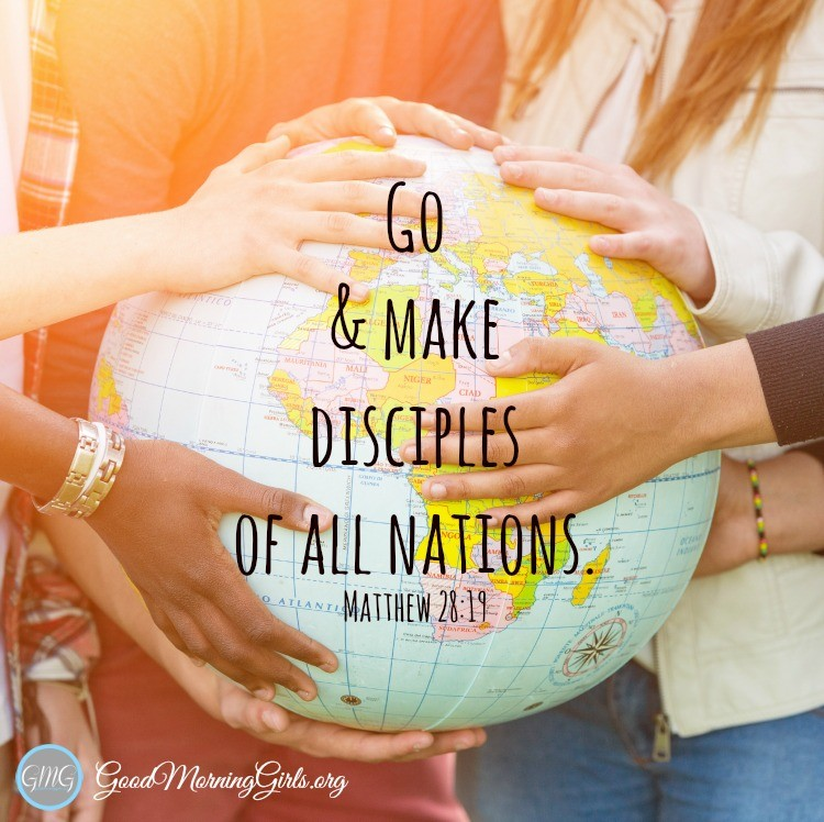 Making Disciples Of All Nations Women Living Well