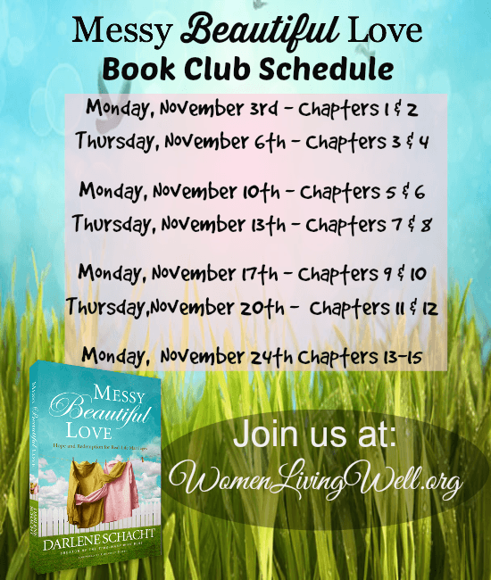 Messy beautiful love book club schedule