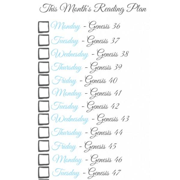 This Week's GMG Reading Plan {10.26.14}