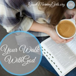 Your Walk With God {Genesis 6}