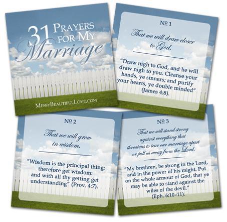 31 prayers for my marriage darlenes
