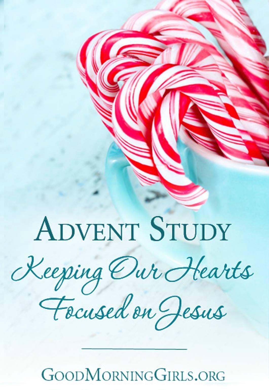 Free Good Morning Girls Advent Study & December's Reading Plan