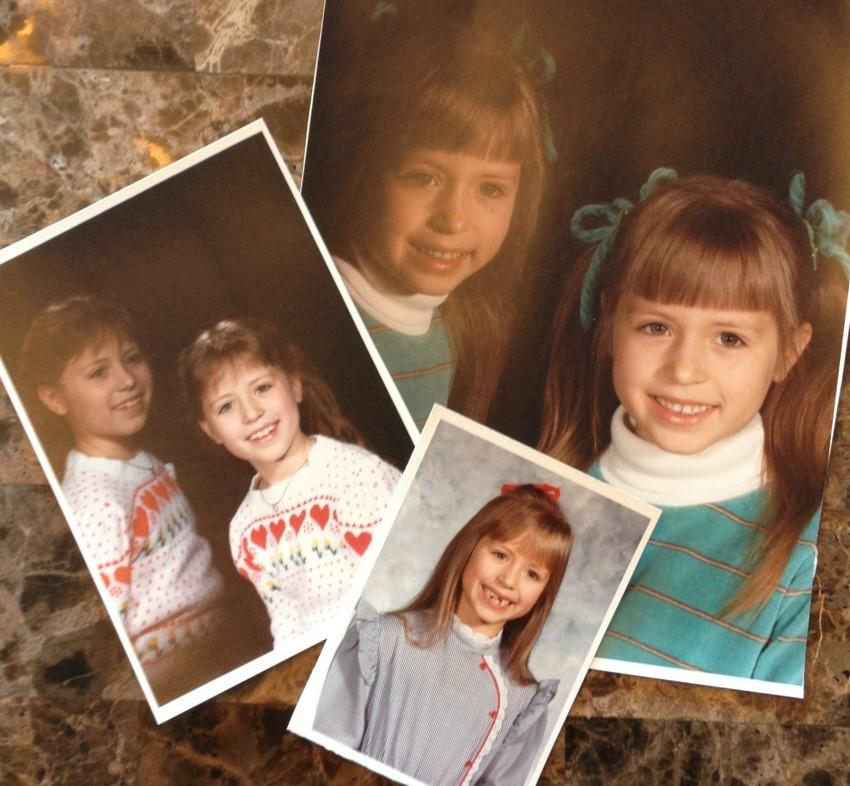 Courtney's childhood photos