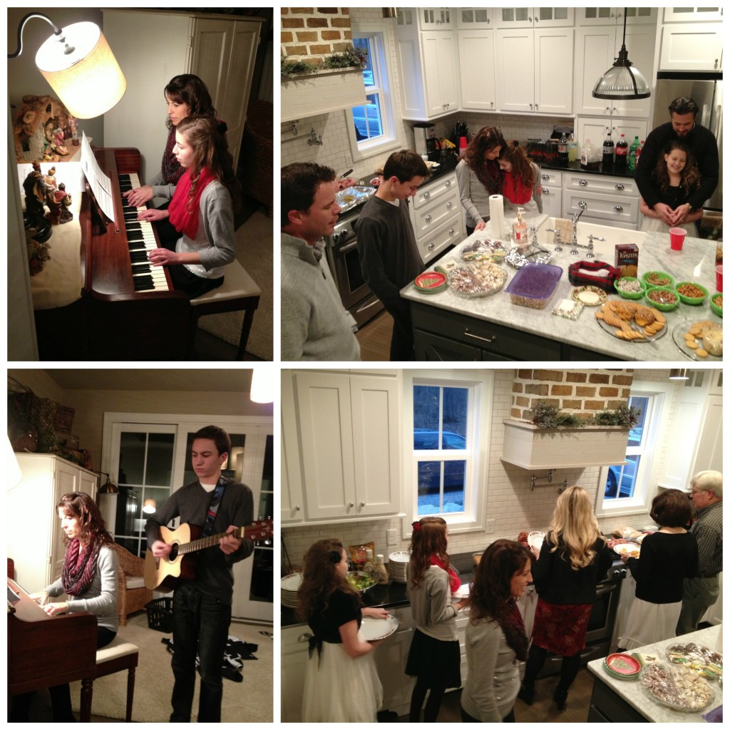 Dinner and Music at Christmas