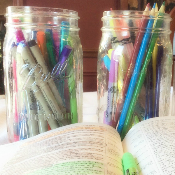 How To Use the SOAK Bible Study Method and Bible Coloring Chart