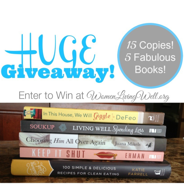 Huge Giveaway – 15 Copies of 5 Fabulous Books
