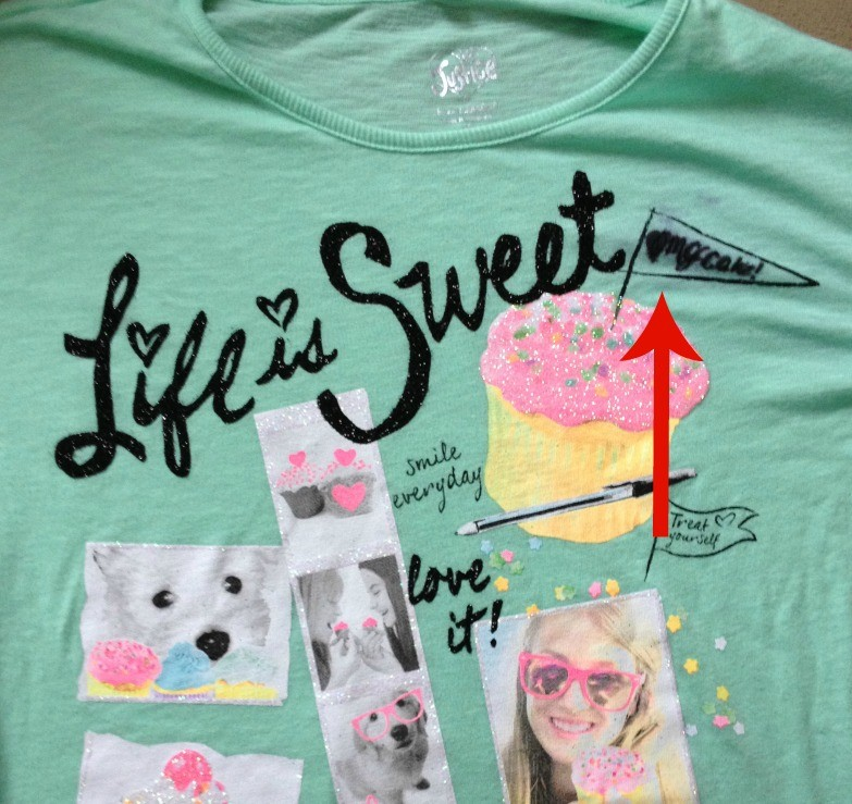 Lexi's shirt