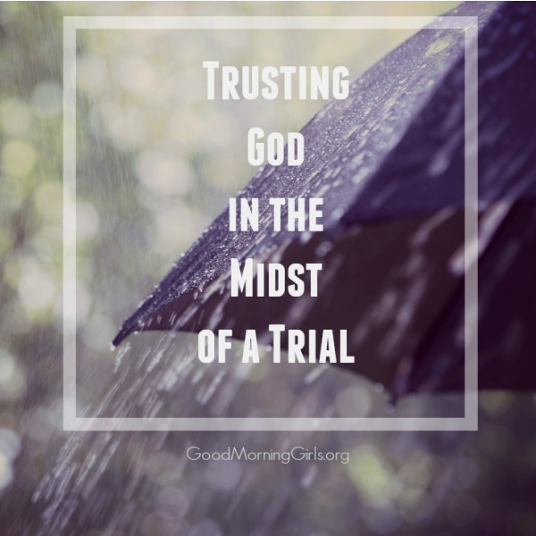 Trusting God in the Midst of a Trial {Exodus 14}