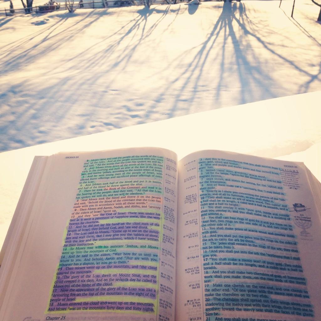 Exodus 24 & 25