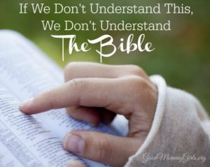If We Don't Understand This, We Don't Understand the Bible {Exodus 24}