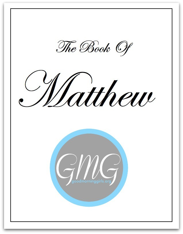 Matthew eWorkbook cover