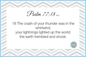 Memory Work Psalm 7718