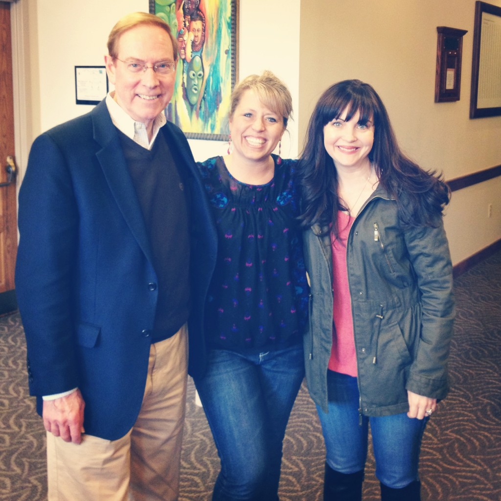 Gary Chapman, Courtney and Ruth Schwenk