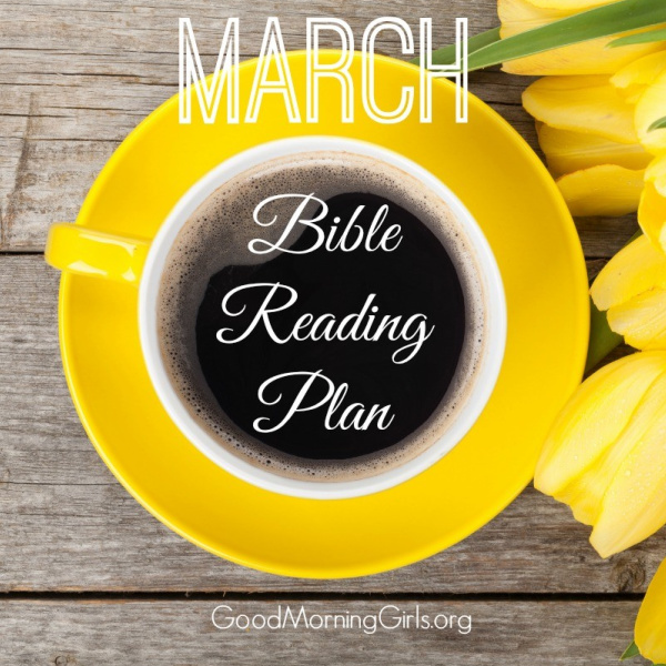 March Bible Reading Plan & Intro to Matthew