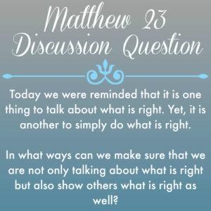 Matthew23