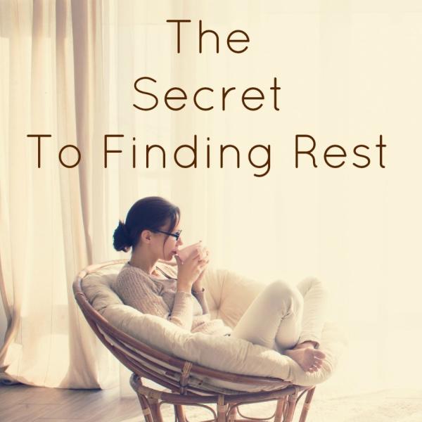 The Secret to Finding Rest {Matthew 11 & 12}