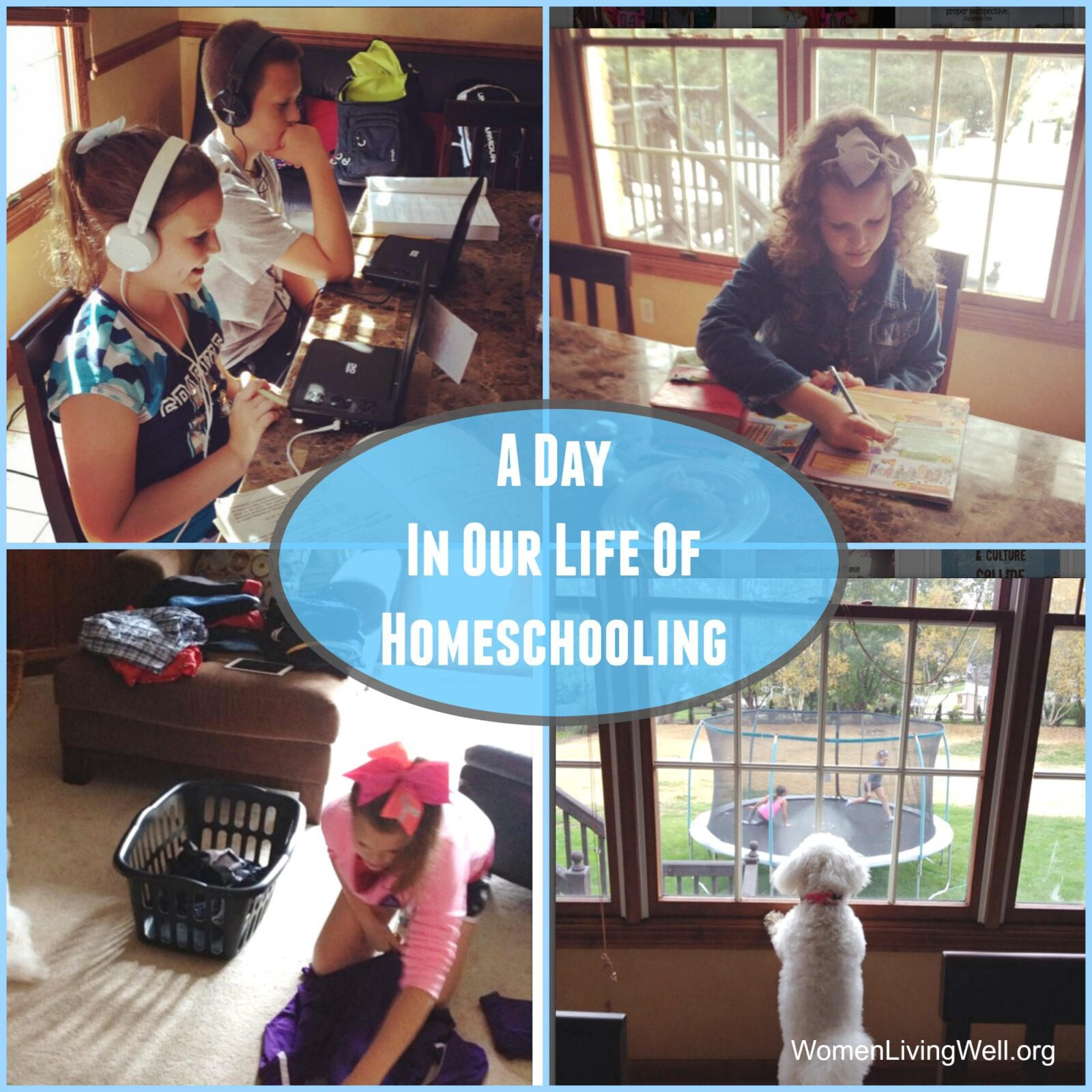 A Day In Our Life of Homeschooling…