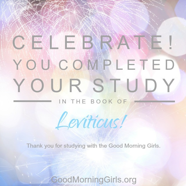 Join Good Morning Girls as we read through the Bible cover to cover one chapter a day. Here are the resources you need to study the Book of Leviticus. #Biblestudy #Leviticus #WomensBibleStudy #GoodMorningGirls