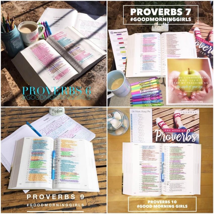 Insta Collage 2 Proverbs 6-10