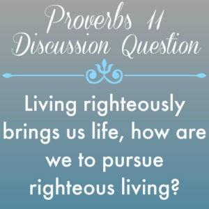 Proverbs11