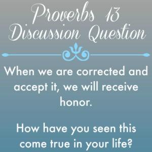 Proverbs13
