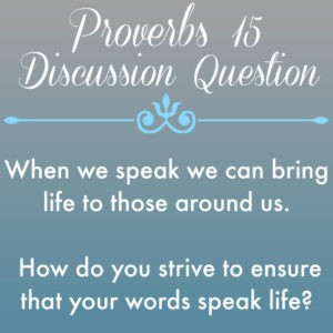 Proverbs15