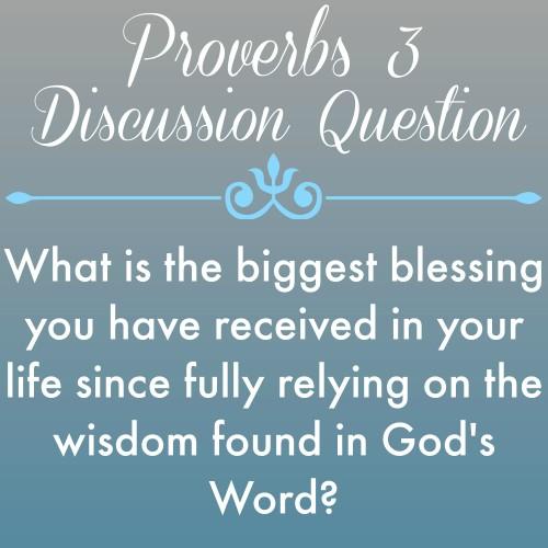 Proverbs3