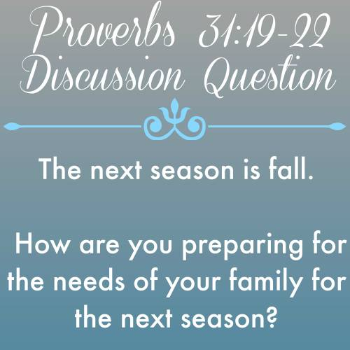 Good Morning Girls Resources {In-depth Study of Proverbs 31