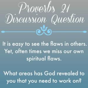Proverbs21