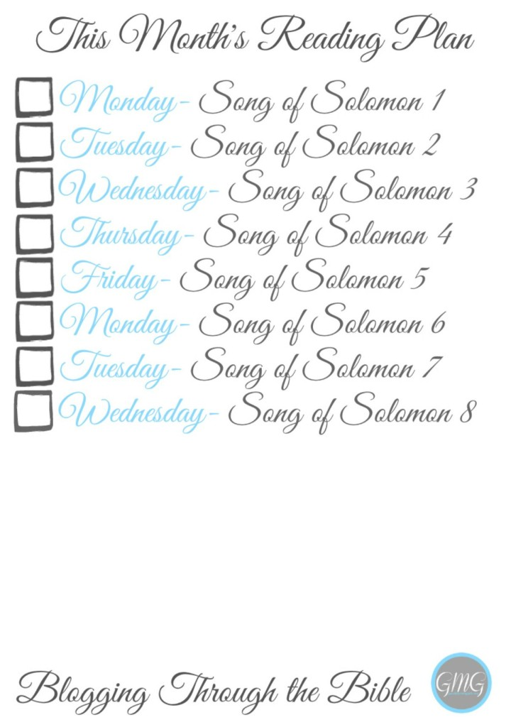 Song of Solomon Bookmark 2