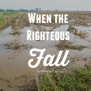 When the Righteous Fall {Proverbs 25}