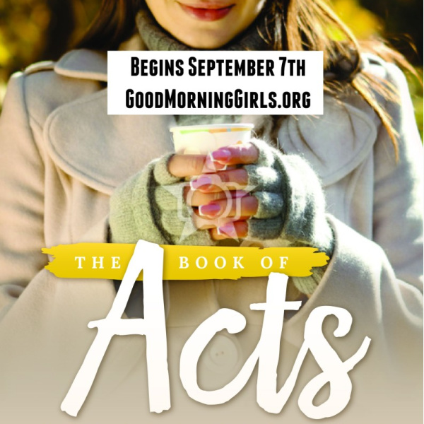 Introducing the Book of Acts & Two New Things!
