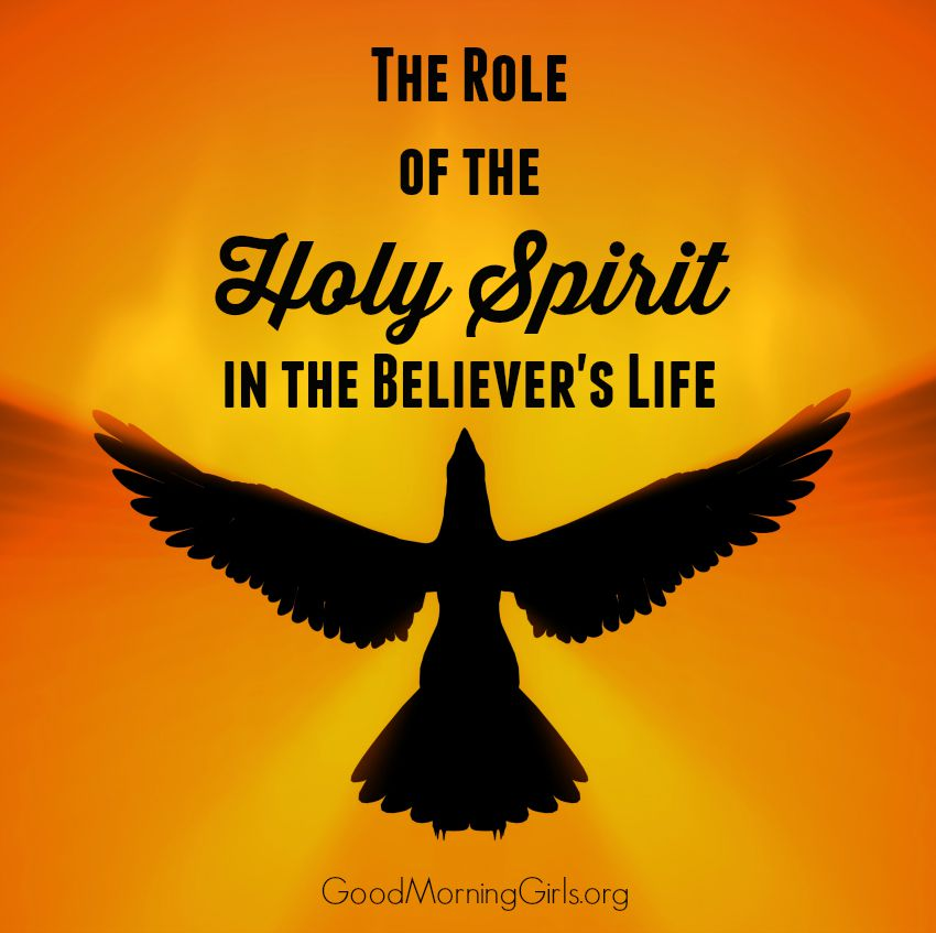 In the New Testament we see symbolism and gifts of the Holy Spirit in the early church, but here is the role of the Holy Spirit in believers' lives today.  #Biblestudy #Acts #WomensBibleStudy #GoodMorningGirls