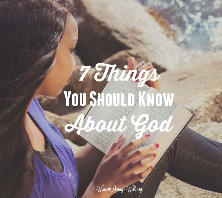 When we read the Old Testament, particularly the first five books, we get a clear picture of God. Here are 7 things you should know about God. #Biblestudy #Numbers #WomensBibleStudy #GoodMorningGirls