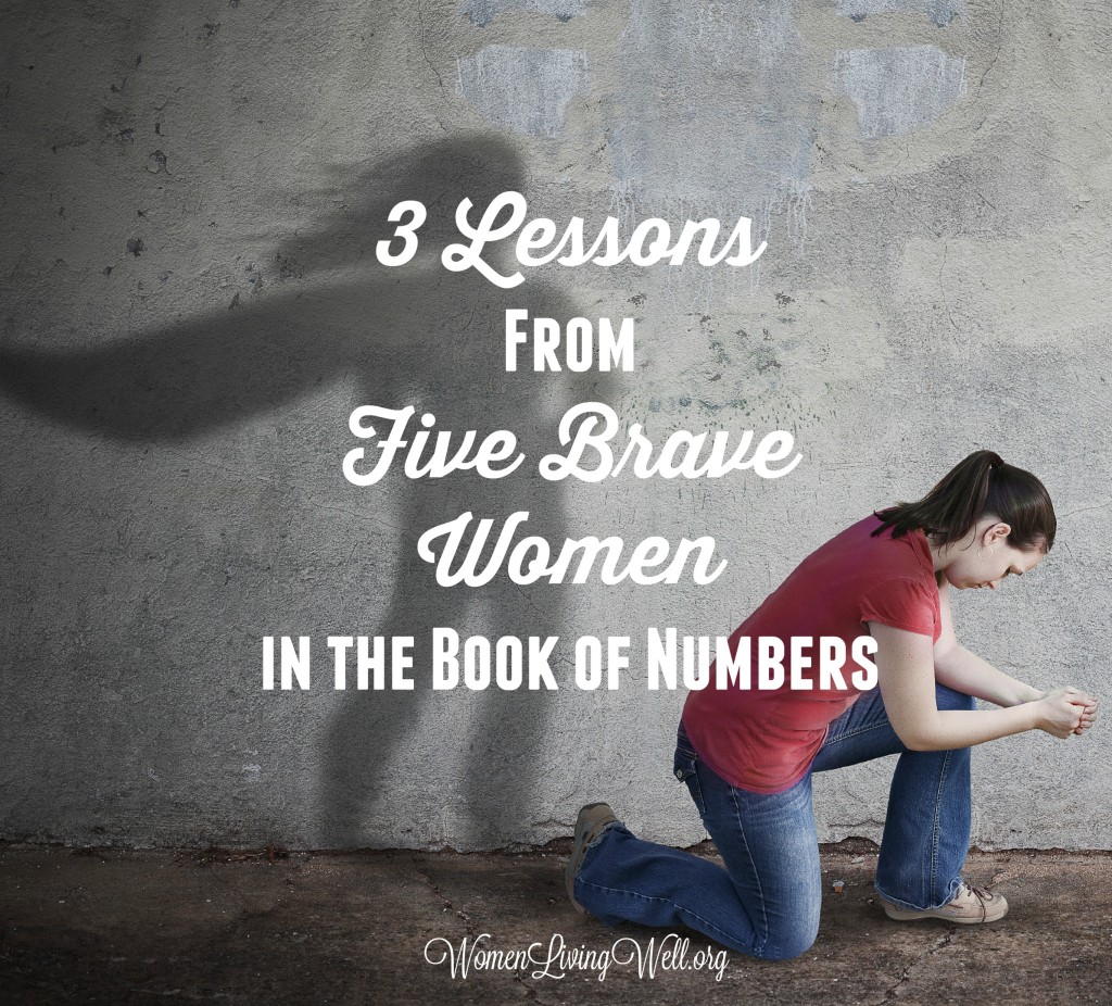 In the book of Numbers we see five brave women and together they give us three powerful lessons. Here is what we can learn from their lives. #Biblestudy #Numbers #WomensBibleStudy #GoodMorningGirls