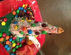 Ice Cream Cone Christmas Trees: Fun Edible Activity for Kids