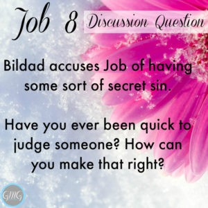 Job 8a