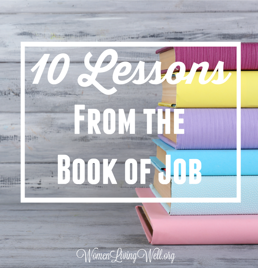 In this very enlightening study through the book of Job, there are 10 lessons we see that are vitally important to every Christian. #Biblestudy #Job #WomensBibleStudy #GoodMorningGirls