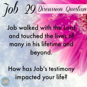Job 29a