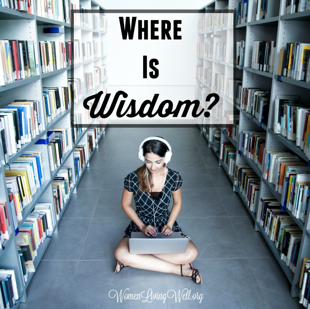 Man puts great effort into gaining wealth but few put that sort of effort into finding wisdom. But where is wisdom? Where can it be found? #Biblestudy #Job #WomensBibleStudy #GoodMorningGirls