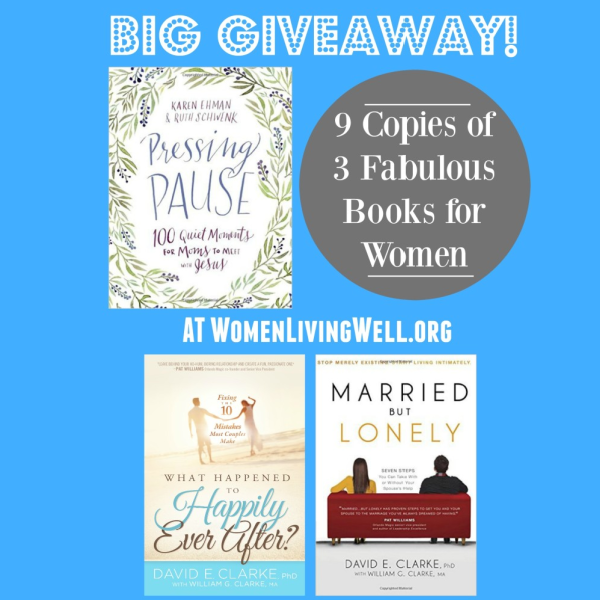 Big Giveaway! 9 Copies of 3 Fabulous Books for Women